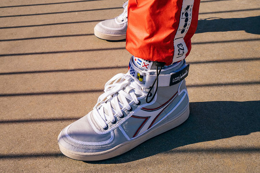 LC23 x Diadora Sailing Collection - MI Basket Sailing Nylon
