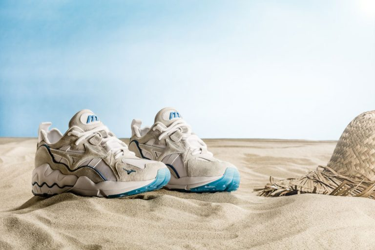 Mizuno Wave Rider 1 Seashore Collection - Seashell White 1