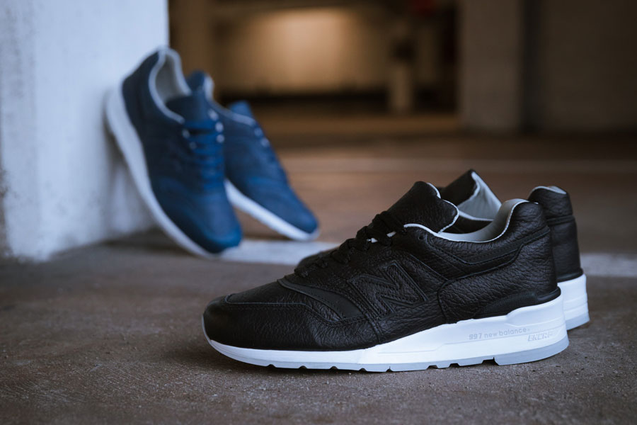 c49754216 These New Balance MADE 997s Feature Bison Leather Uppers
