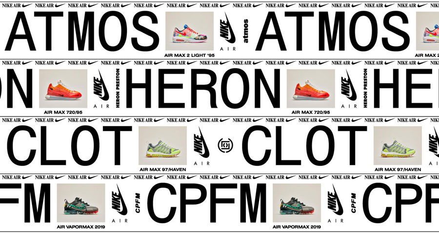 Nike Air Max 2019 Collaborations - Mood