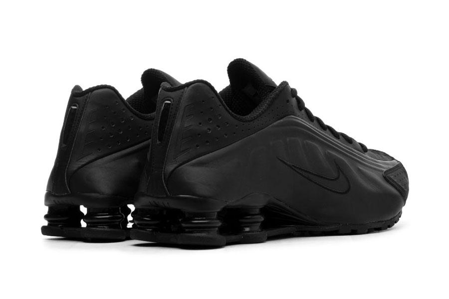 Nike Shox R4 Triple Black (BV1111-001) - Heel