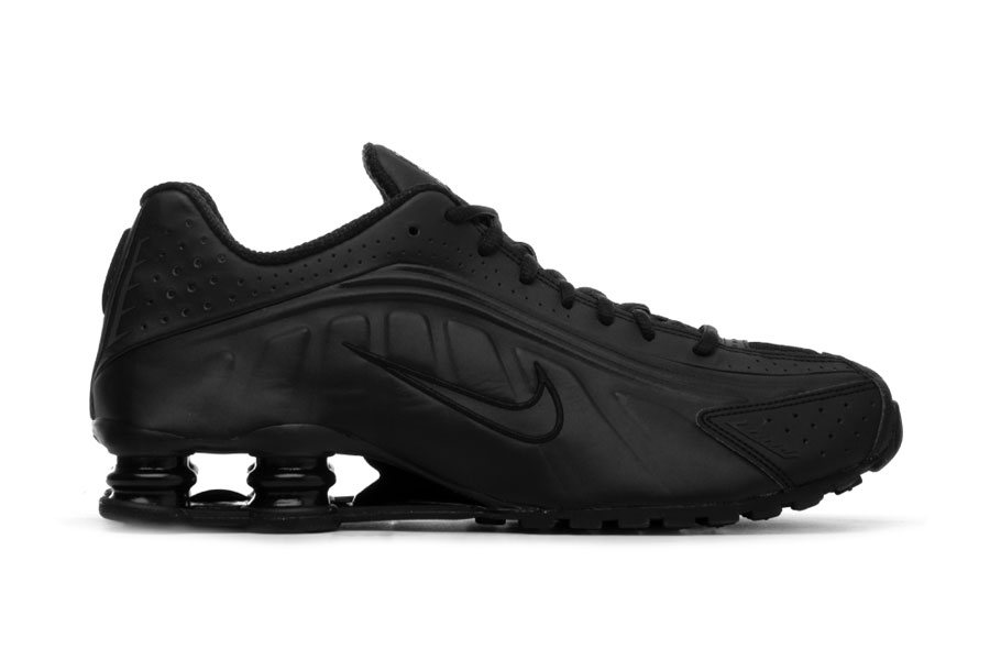 Nike Shox R4 Triple Black (BV1111-001) - Side