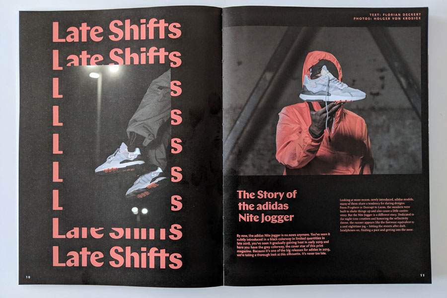 Sneakers Mag March 2019 (Issue 41) - adidas Nite Jogger