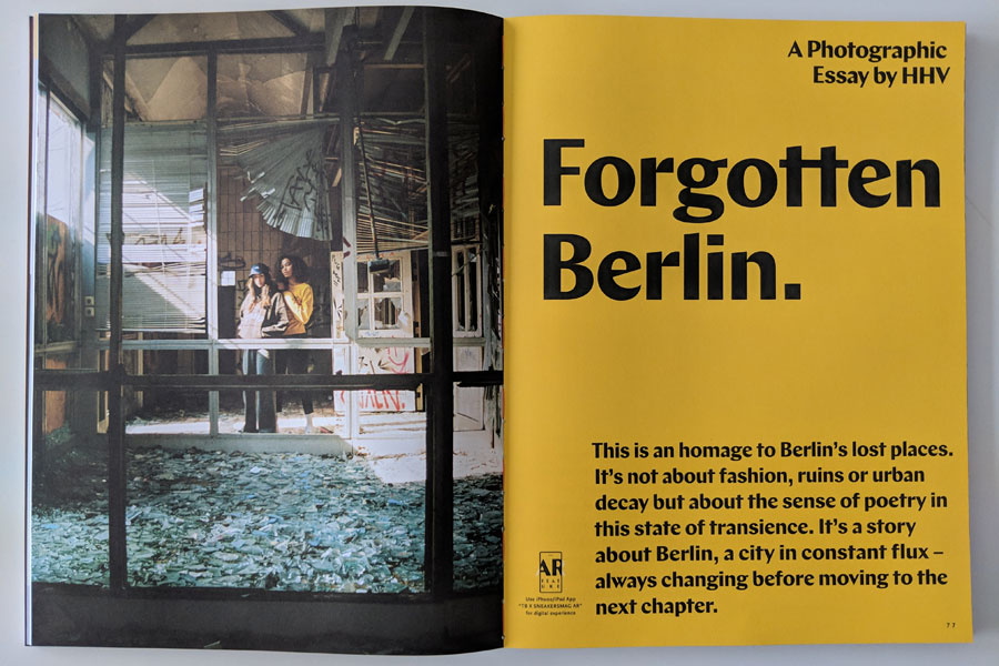 Sneakers Mag March 2019 (Issue 41) - Forgotten Berlin