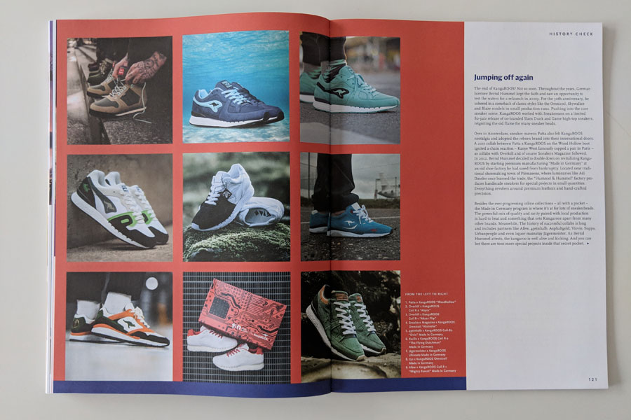 Sneakers Mag March 2019 (Issue 41) - KangaROOS