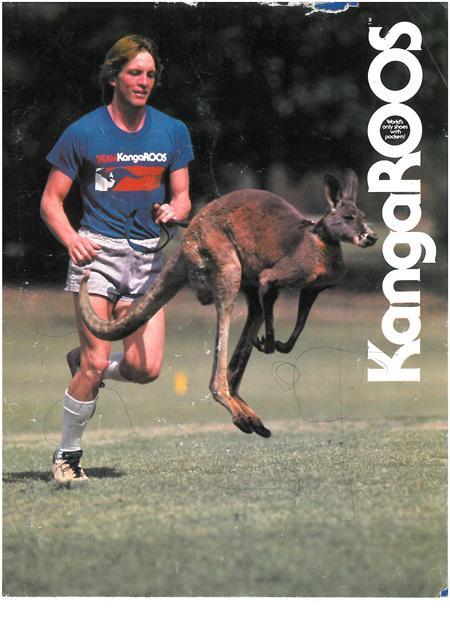 40 Years KangaROOS - Ad Kangaroo