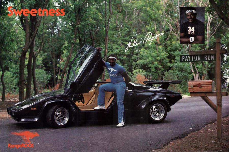 40 Years KangaROOS - Ad Walter Payton