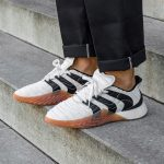 adidas Sobakov BOOST Clear White Core Black (BD7674) - Mood 1