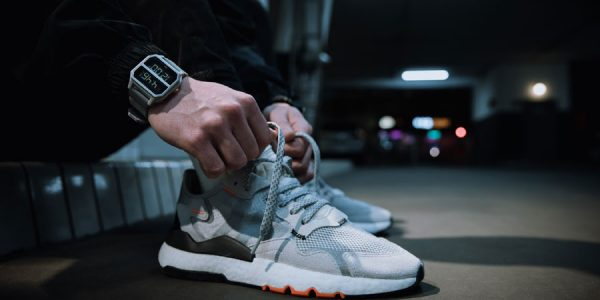 adidas Presents a Matching Nite Jogger Wristwatch