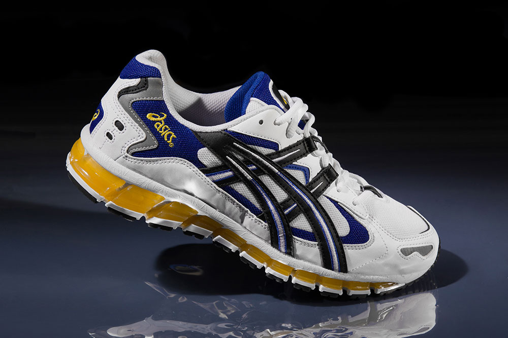 ASICS GEL-KAYANO 5 360 (White Black) 3