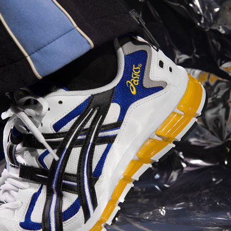 ASICS GEL-KAYANO 5 360 (White Black) 4