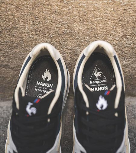 Hanon x Le Coq Sportif LCS R800 The Good Agreement - Mood 3