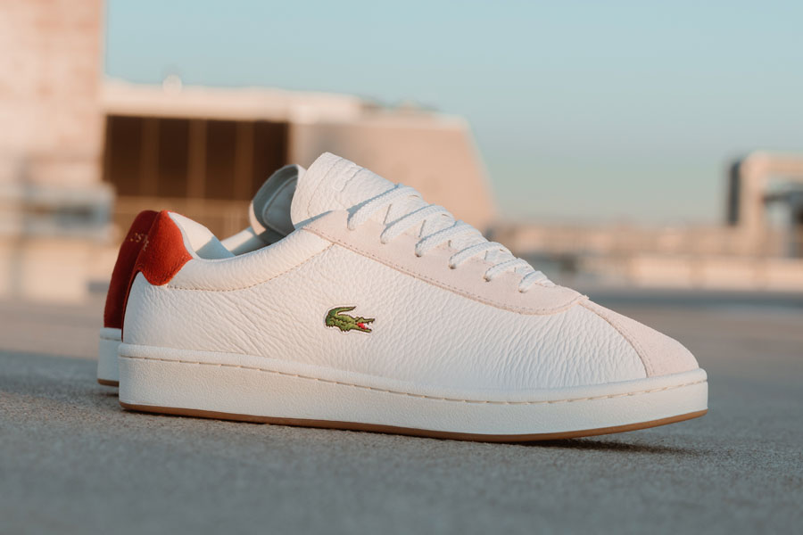 Lacoste Masters Off White Red (2019) - Mood 2