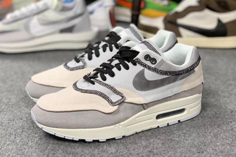 Nike Air Max 1 Inside Out Grey (858876-013) - Mood 1