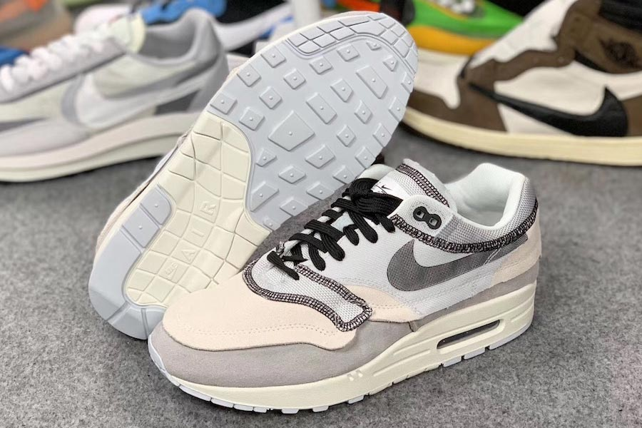 Nike Air Max 1 Inside Out Grey (858876-013) - Mood 2