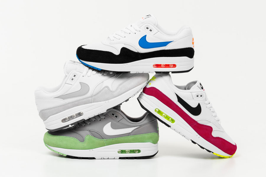 Nike Air Max 1 Spring 2019 Colorways