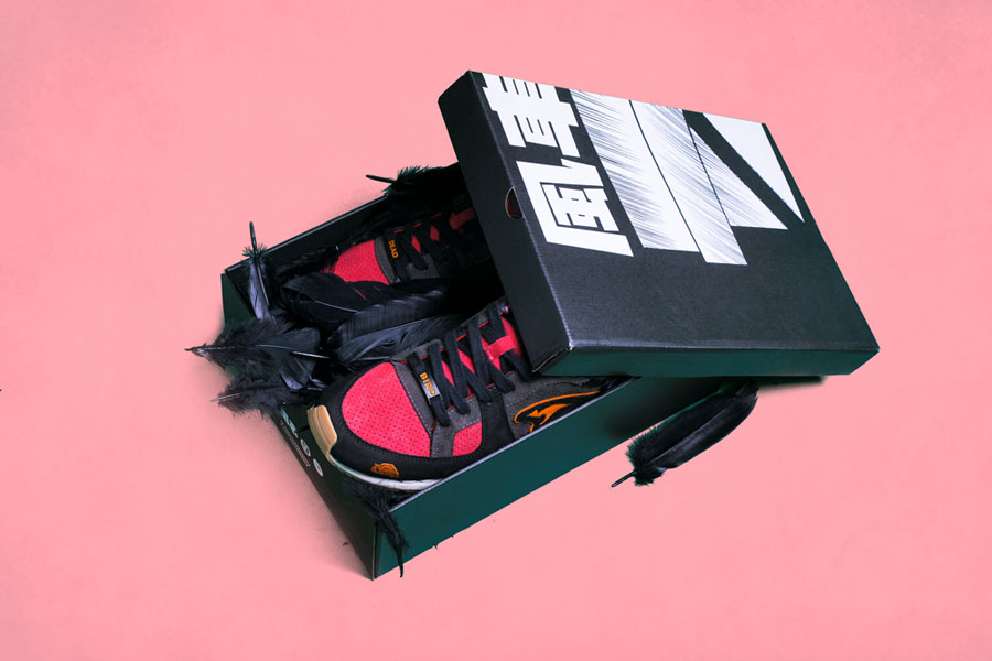 SneakerBAAS x KangaROOS COIL-R1 Windmill Pack - Dead Bird 2