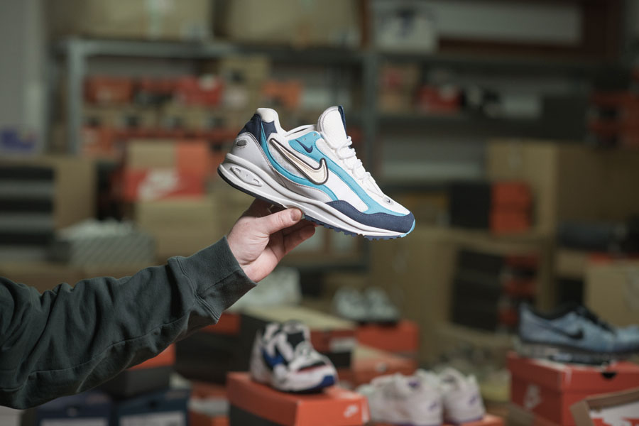 Iceberg - Rare Nike Collection - Air Skylon Triax III (1997)