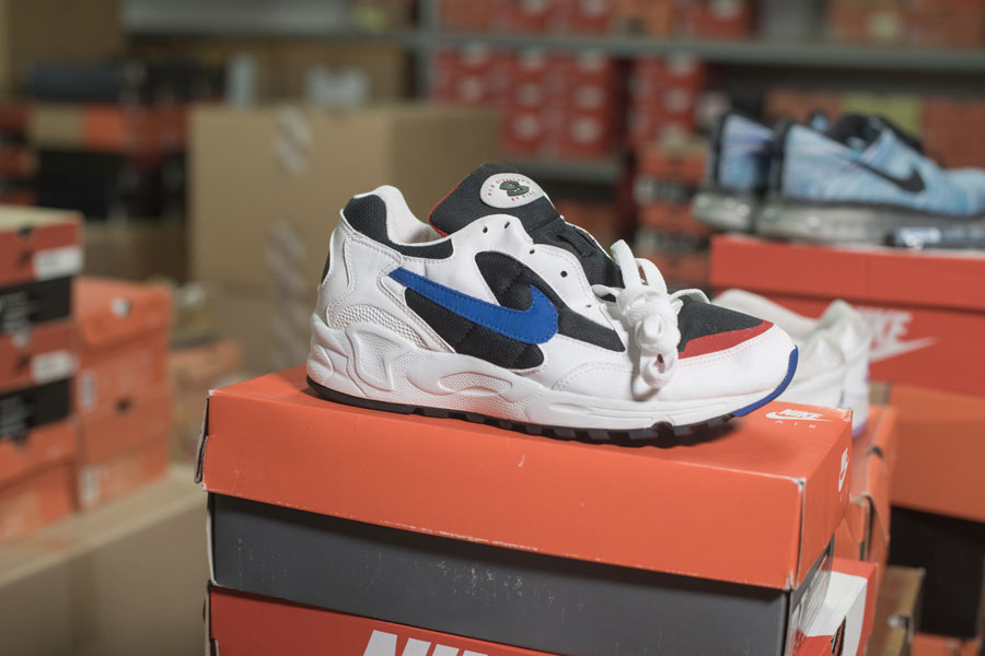 Iceberg - Rare Nike Collection - Air Structure Triax (1994)