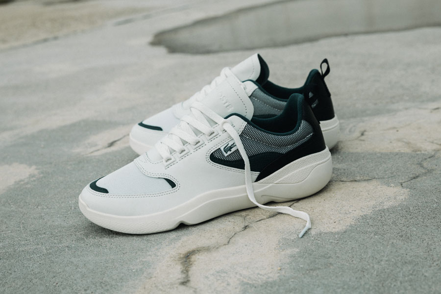 Lacoste Wildcard (Off White Dark Green) - Mood 1