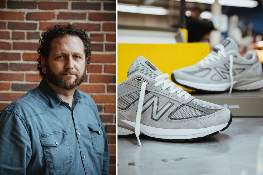 Designer Scot Hull About His Updates on the New Balance 990V5