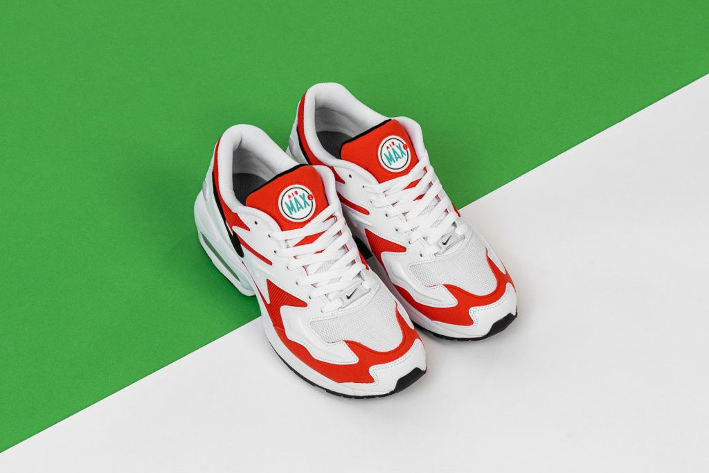 Nike Air Max2 Light Habanero Red (AO1741-101) - Mood 2