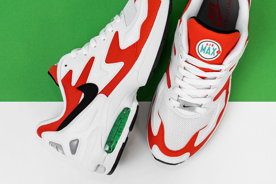 Nike Air Max2 Light Habanero Red (AO1741-101) - Mood 3