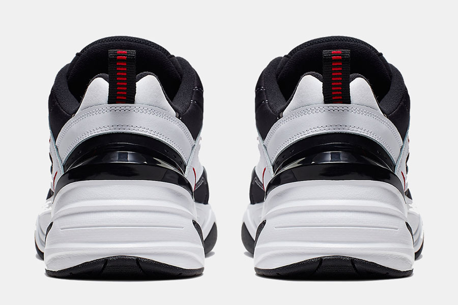 Nike M2K Tekno White Black Red (AV4789-104) - Back