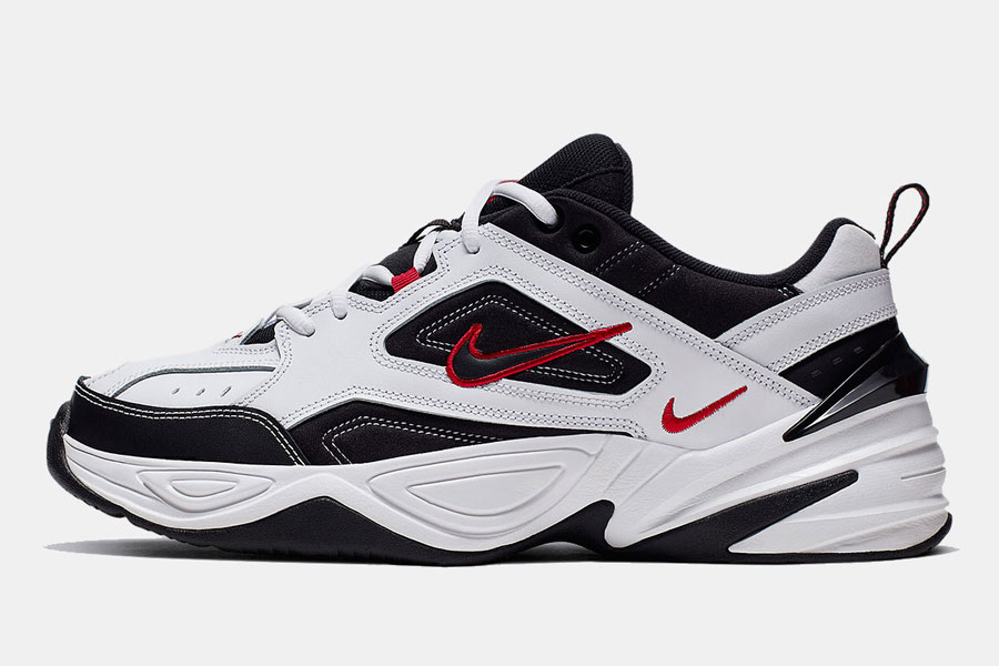 Nike M2K Tekno White Black Red (AV4789-104) - Left