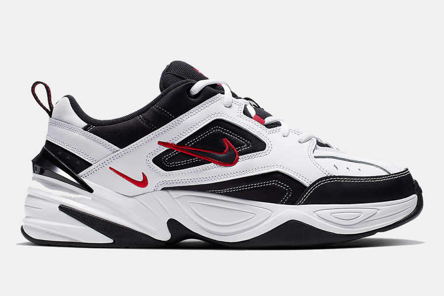Nike M2K Tekno White Black Red (AV4789-104) - Right