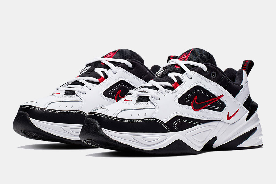 Nike M2K Tekno White Red Black (AV4789 104) | Sneakers Magazine