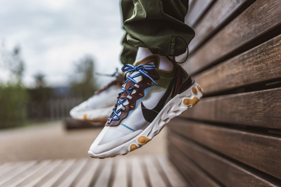 Nike React Element 87 Moss (AQ1090-300) - Mood 1