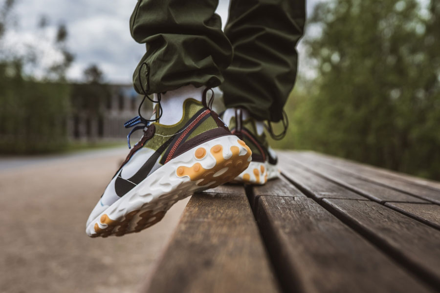 Nike React Element 87 Moss (AQ1090-300) - Mood 3