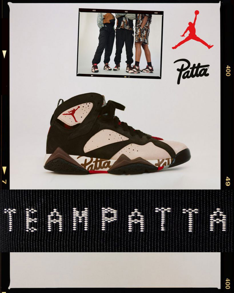 Patta x Air Jordan 7 - Mood 2
