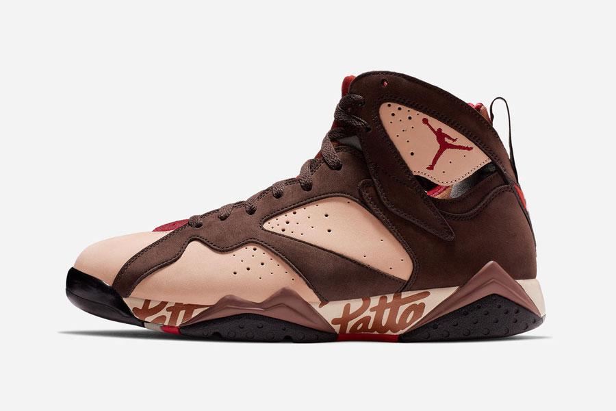 Patta x Air Jordan 7 - Left