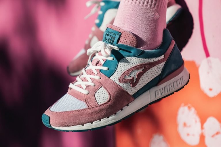 Sneakerholics x KangaROOS COIL-R1 Bubblegum - Mood 1
