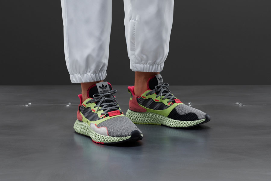 adidas ZX 4000 4D Grey Three (BD7927) - Mood 1