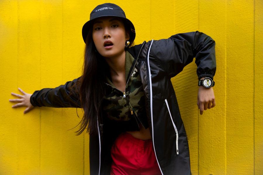 BAPE x Swatch BIG BOLD Collection - Mood 1