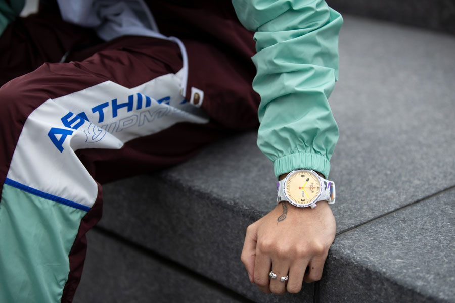 BAPE x Swatch BIG BOLD Collection - Mood 2