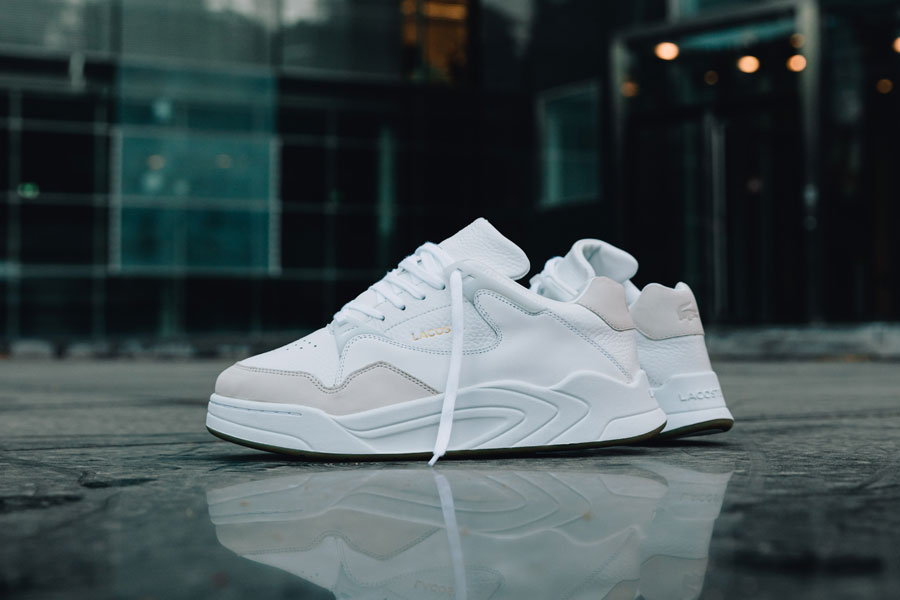 Lacoste COURTSLAM AW19 (White Gum) - Mood 1