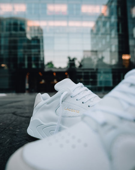 Lacoste COURTSLAM AW19 (White Gum) - Mood 2