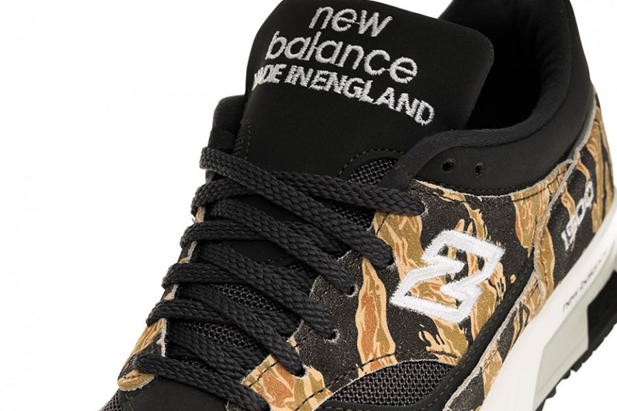 New Balance M1500PRA Tiger Camo - Tongue