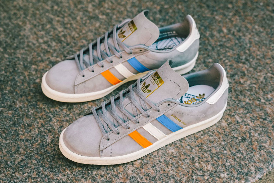 Sneakersnstuff x adidas Campus 80s 22 Little West - Mood 1