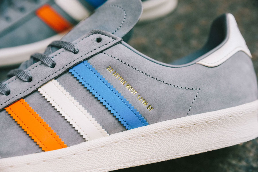 Sneakersnstuff x adidas Campus 80s 22 Little West - Mood 2