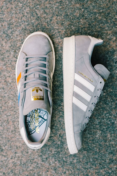 Sneakersnstuff x adidas Campus 80s 22 Little West - Mood 4