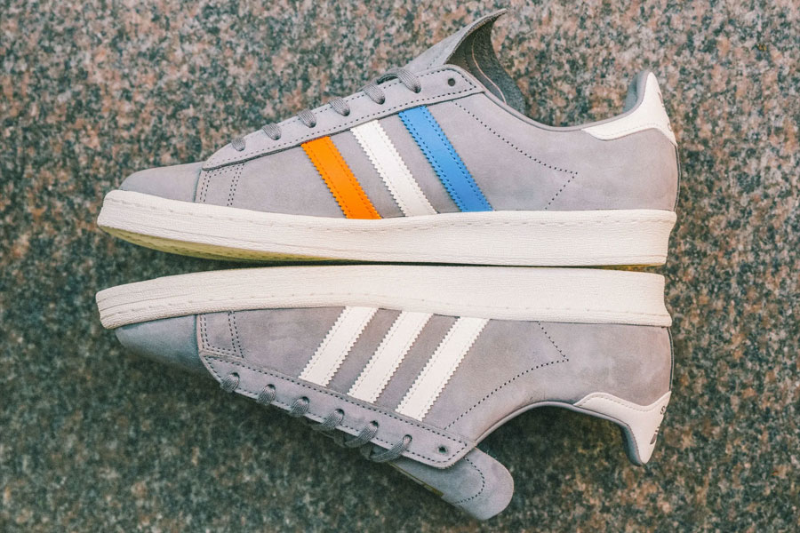 Sneakersnstuff x adidas Campus 80s 22 Little West - Mood 5