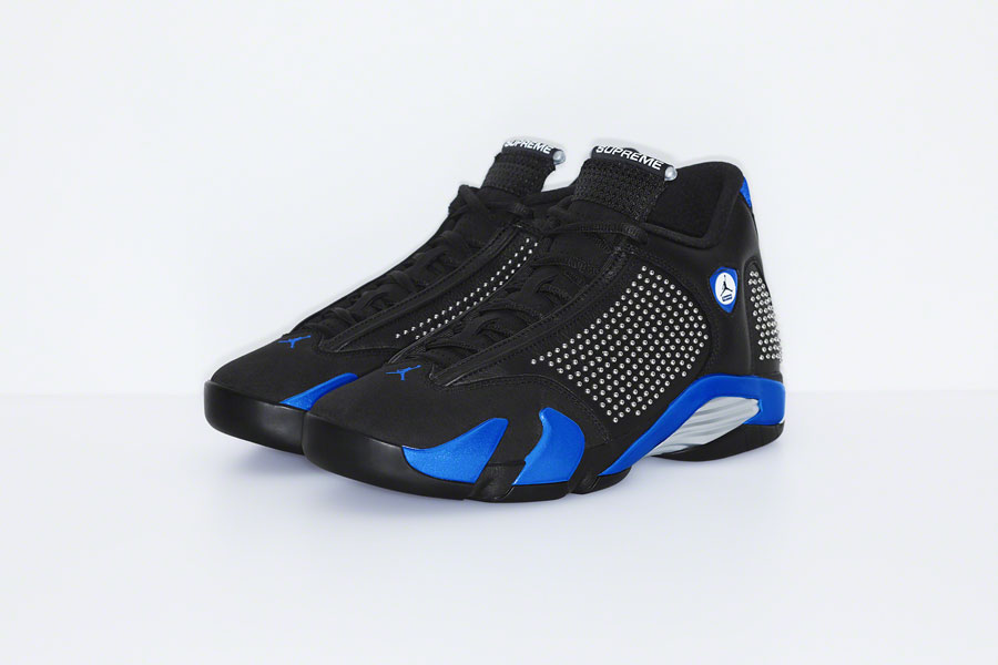 Supreme x Nike Air Jordan 14 - Black Blue