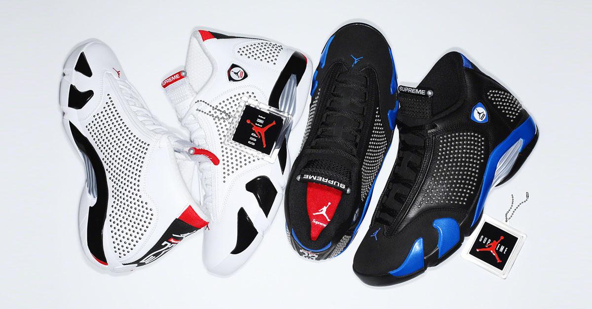 Supreme x Nike Air Jordan 14 (Release Information) | Sneakers Magazine