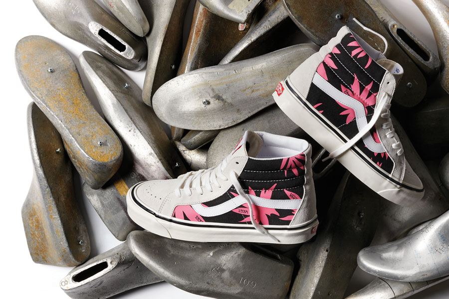 VANS Anaheim Factory Collection Prints Pack - Sk8-Hi (Summer Leaf)
