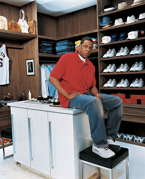 White Leather Sneakers - Jay Z Reebok S Carter